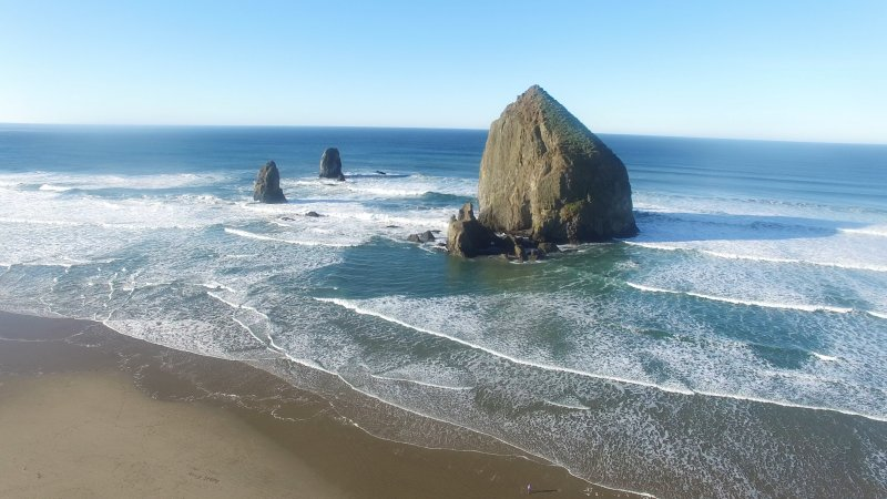 Haystack Rock In Winder